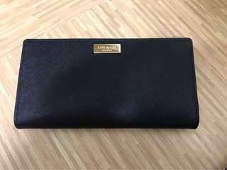 BN Kate Spade Saffiano leather wallet