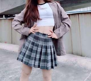 Checkered Tennis Skirt (with inner shorts) #precny60