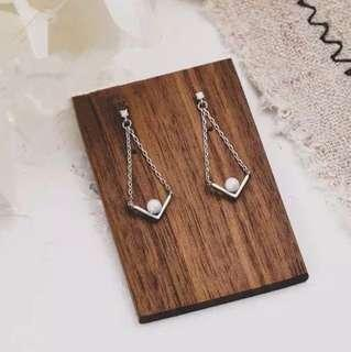 (PO) K-Drama: What is Wrong with Secretary Kim Pearl Drop Earrings
