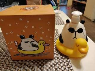 全新 Panda-a-Panda 梘液樽
