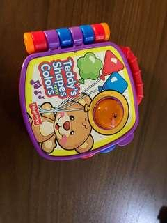 Preloved Fisher Price Teddy's Laugh and Learn Sound Book