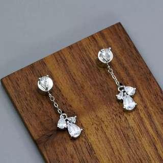 (PO) K-Drama: What is Wrong with Secretary Kim Crystal Petals Earrings