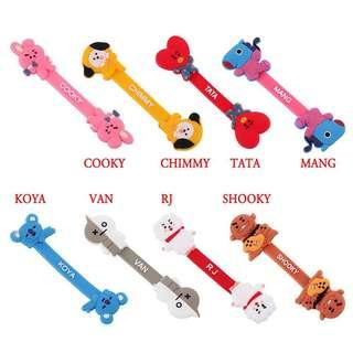 BT21 character cord holder