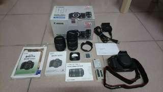 Canon 600D + 18-55mm&55-250mm kit