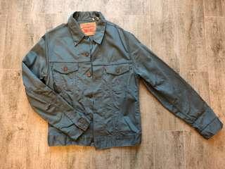 levis trucker jacket M blue jeans jean 501 denim shirt