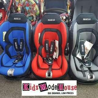 sparco f5000k carseat moving out sale