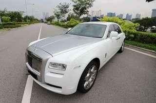 Rolls Royce Ghost Rental w/ Driver