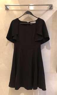 全新 Korea Seoul Fashion black dress 黑色裙