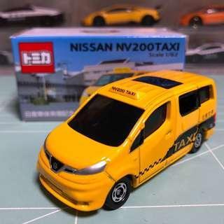 Tomica 日產NV200 Taxi 非賣品
