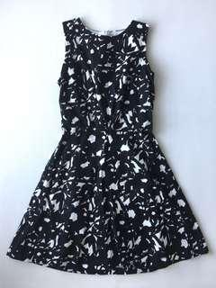 Black & White Just G Party Dress