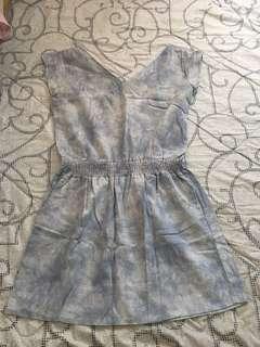 SOFT DENIM DRESS