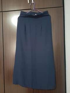 Long Formal Skirt (Dark Blue)