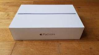 iPad mini 4 Wifi with cellular Silver without box