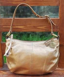 Authentic Coach Bronze Bag