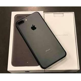 iPhone 7plus 128gb Mate black factory unlocked NTC APROVED!
