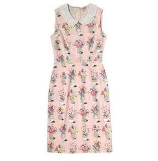Cath Kidston Pink Floral Pot dress