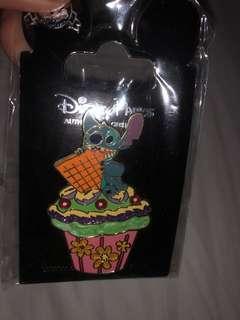 Stitch Cupcake Pin BNWT