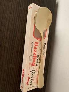 Kellogg's Dazzling Spoon (Gold color)