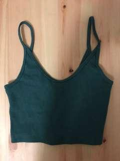 General Pants Green crop top