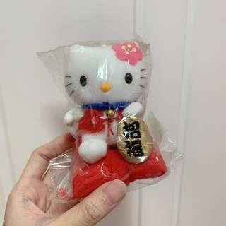 Hello Kitty 招財貓公仔匙扣