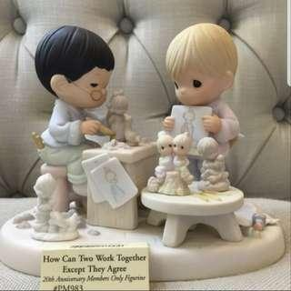 Precious Moments-How Can Two Work Together Except They Agree