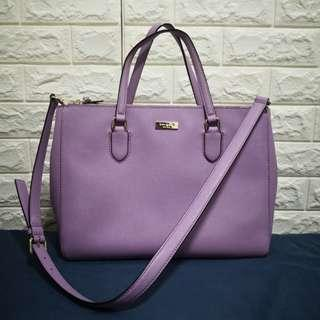 Kate Spade Laurel Way Leighann Bag - Lilac Petal