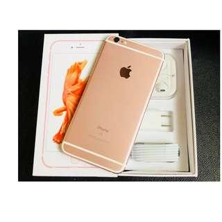 iPhone 6s plus 64gb Factory unlocked rose gold