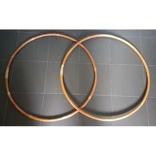 2 pieces Cane Hula Hoop