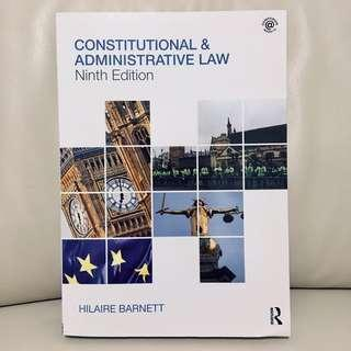 Constitutional & Administrative Law (9th Ed.)