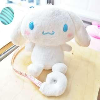 Sanrio Cinnamon Soft Toy Plushie Keychain Bag Charm Measuring Tape