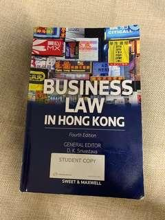Business Law in Hong Kong