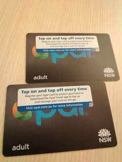 澳洲australia Nsw Opal card,  bought in nov 2018