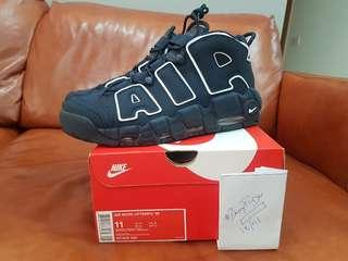 "Brand New 100% Authentic Nike More Uptempo ""Obsidian"" US11/UK10"