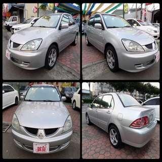 代步小車 2006 三菱 菱帥 MITSUBISHI  GLOBAL  LANCER 銀 1.6