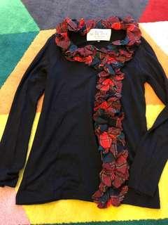 A.T. Black colour top