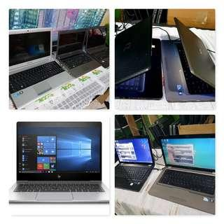 Laptops - Php 500 OFF !!! - Affordable, pre-loved (non-repaired)