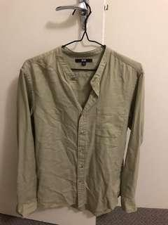 Uniqlo Beige Shirt