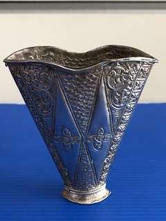 Vintage Peranakan Silver Sirih Leaf Holder