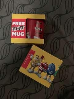 M&Ms Collectible Mugs