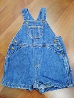 Authentic Baby Gap overall