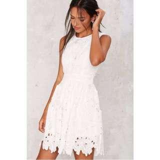 🚚 Nasty Gal Hit Refresh Fit & Flare Dress (Prom/Formal/Wedding)