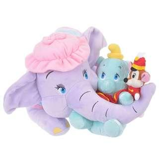 🌟日本Disney store直送🌟小飛象 Dombo  & Timothy 公仔