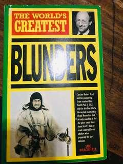 The World's Greatest Blunders
