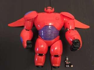 18寸高 Disney's Big Hero 6 Deluxe Flying Baymax 18in Wingspan Hiro Flying Sounds Bandai