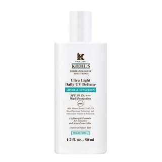 Kiehl's Ultra Light Daily UV Difence Mineral Sunscreen 50ml