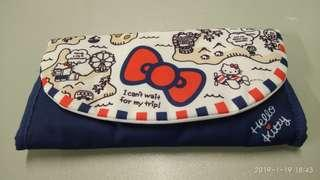 Hello Kitty 旅行証件收納袋(12cm x 23cm)