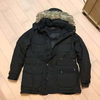 Polo Ralph Lauren RLX 中長身羽絨外套連帽 Down Feather Jacket