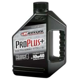 CLEARANCE Maxima Pro Plus 10W40 Ester Based Synthetic Motorcycle Oil - 1Gal (3.784L)