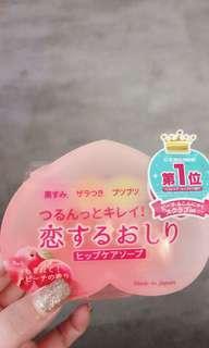 🚚 去角質蜜桃洗澡香皂