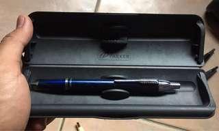 Parker Pen blue arrow (with box)
